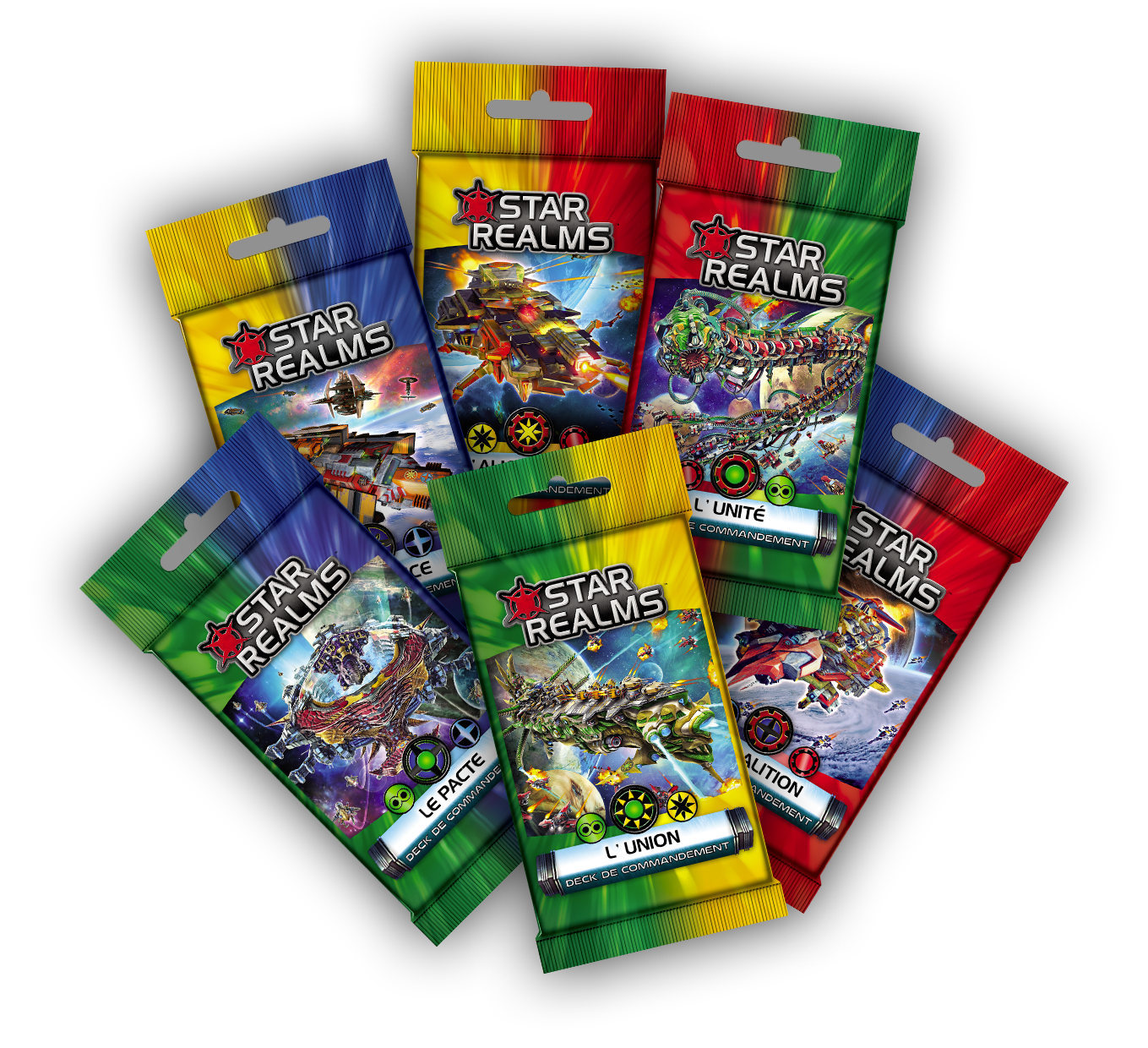 Decks de Commandement Star Realms